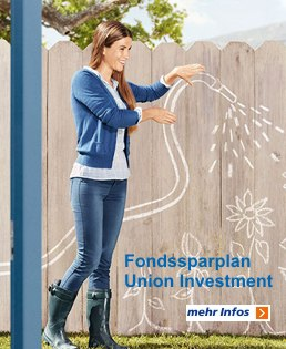 Fondssparplan Union Investment